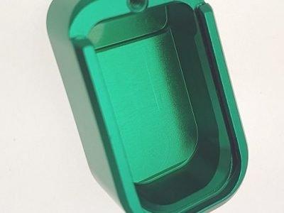 U011 Unica Alu Base Pad Green For Large Frame Code 645 U Pad Al V