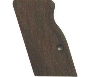 Walnut grips for magwell GU005