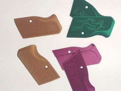 U012 Guan Al L 9 P- Purple Alu Grips Custom Small Frame Code: 630 U Guan Al L P